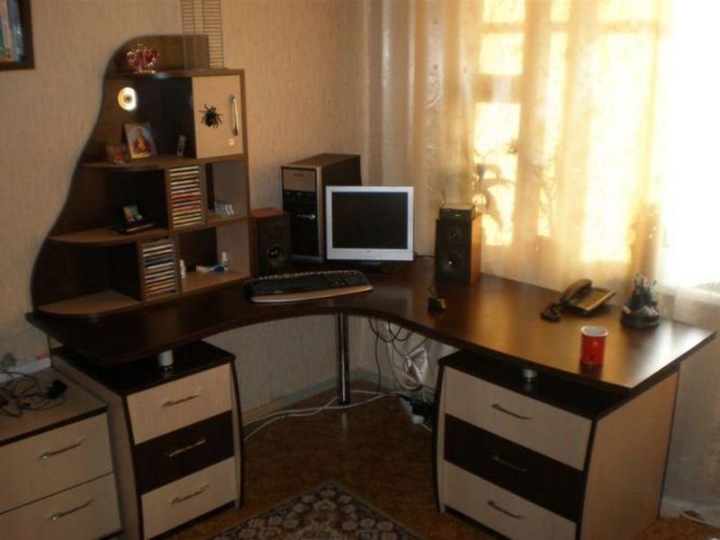 Столы компьютерные от производителя на заказ - радуга мебели.