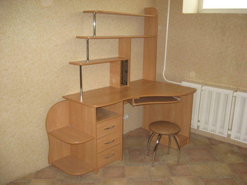 Дизайн письменных угловых столов