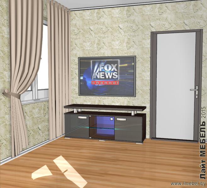 3D проекты. Тумба для телевизора